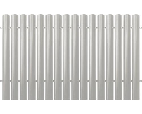 Panou gard Baufence, 1700 x 10,5 mm x 16, alb