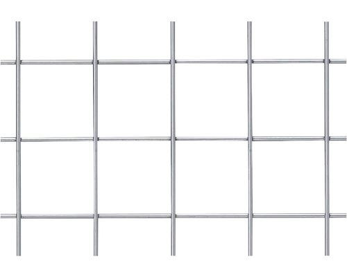 Plasa gard zincata, ochi 60 x 60, 1,2 x 2,5 m, gri