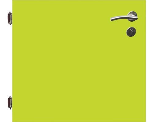 Poarta simpla 90 x 90 cm, verde, deschidere stanga