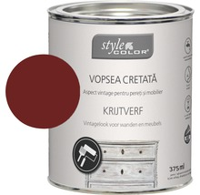 Vopsea cretă StyleColor king´s red 375 ml