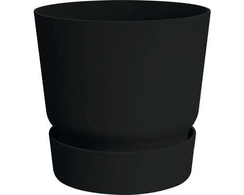 Ghiveci Greenville, Ø 30 cm, h 27,8 cm, negru