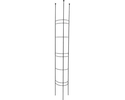 Spalier semirotund L, metal, 27x150 cm, antracit