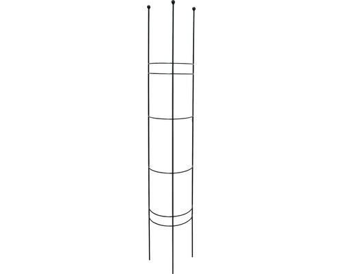 Spalier semirotund M, metal, 27x150 cm, verde