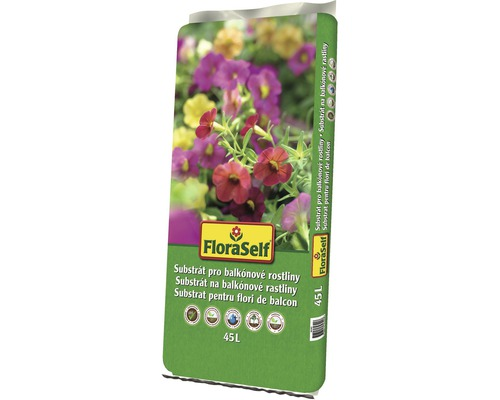 Floraself Substrat plante de balcon 45 l