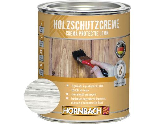 Crema de protectie pentru lemn, alba 750 ml