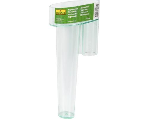 FloraSelf Pluviometru 25 cm, verde transparent