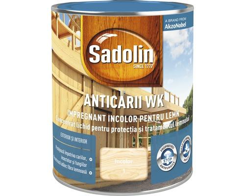 Impregnant incolor pentru lemn Sadolin Anticarii WK 0,75 l