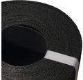 Bordura pentru gazon, 15 x 900 cm, negru