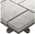 Dala din piatra naturala Florco stone Quarz, mica 30x30 cm 4 bucati, gri