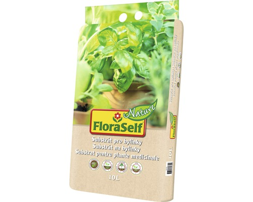 FloraSelf Nature Pamant plante aromatice, 10 l