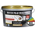 Vopsea lavabila Meister Polar Weiss Plus baza B in nuanta dorita 10 l