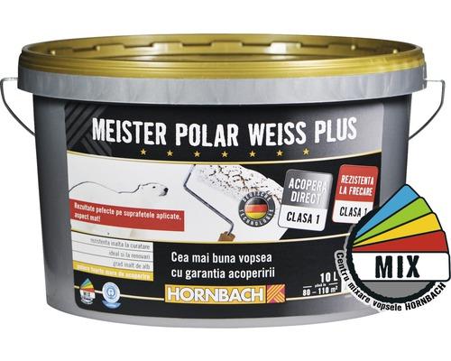 Vopsea lavabila Meister Polar Weiss Plus baza C in nuanta dorita 10 l