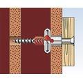 Dibluri plastic cu ochi Fischer DuoPower 10x50 mm, pachet 2 bucati