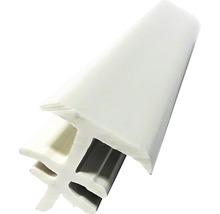 Baghetă îmbinare pentru fereastră PVC 150 cm albă