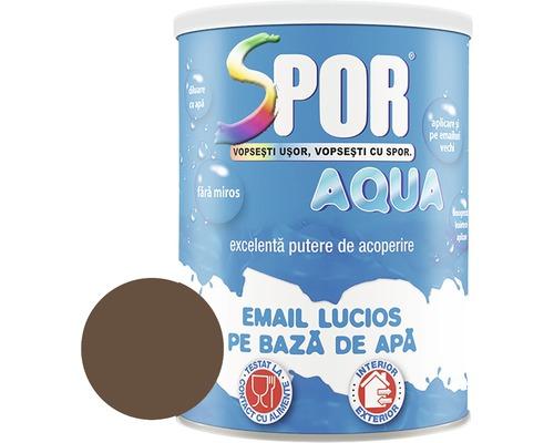 Email lucios pe baza de apa Spor Aqua maro 2,5 l