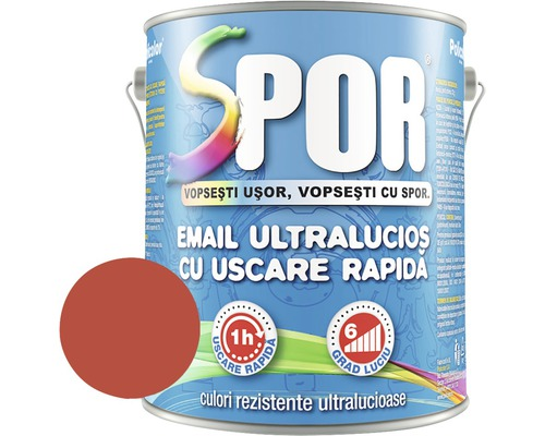 Email superlucios cu uscare rapida Spor rosu 2,5 l