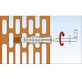 Dibluri plastic cu carlig alb Tox Pirat Will 8x51 mm, pachet 2 bucati