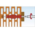 Dibluri plastic cu surub Tox Tri 5x31 mm, pachet 12 bucati
