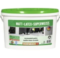 Vopsea pe baza de latex cu aspect matasos Matt-Latex-Superweiss alba 5 l