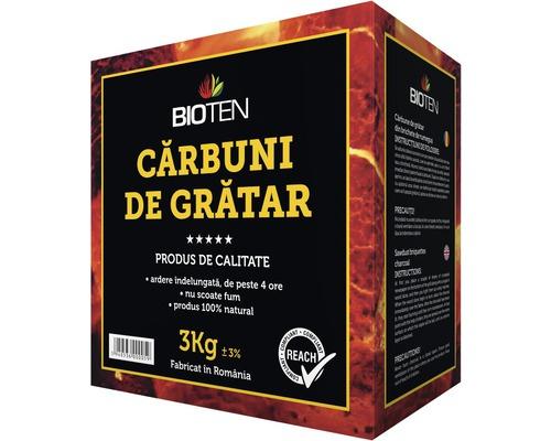 Cărbuni Bioten grătar ecologici, 3 kg
