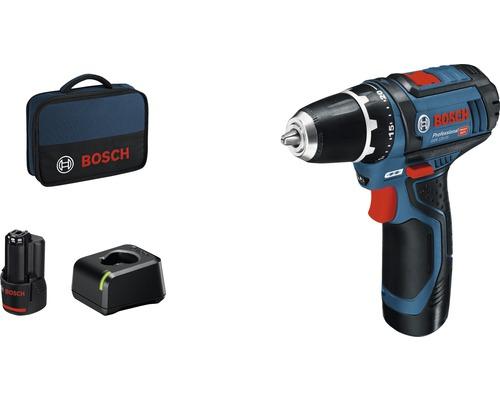 Masina de gaurit & insurubat cu acumulator Bosch Professional GSR12V-15 12V max. 30Nm, 2 acumulatori si geanta inclusa