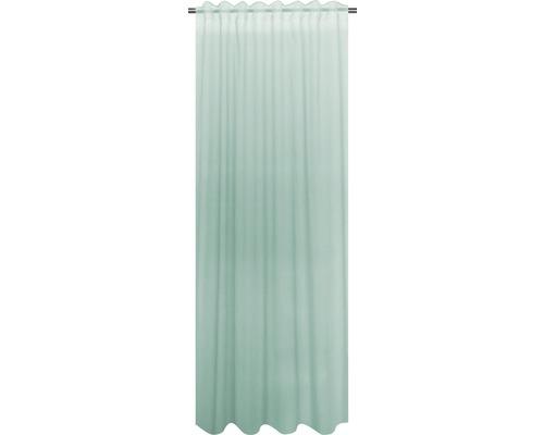 Draperie cu rejansa Cambric verde menta 140x280 cm