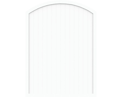 Element principal BasicLine tip F 180 x 205/180 cm, alb