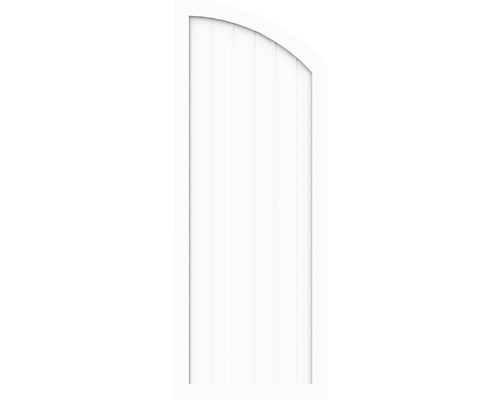 Element de extremitate BasicLine tip H dreapta 90 x 180/150 cm, alb