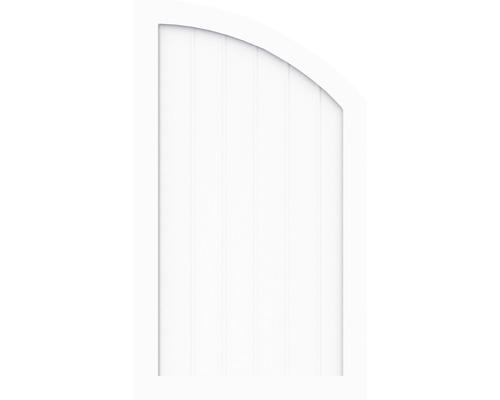 Element de extremitate BasicLine tip R dreapta 90 x 120/90 cm, alb
