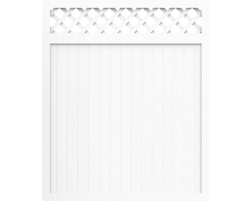 Element principal BasicLine tip C 180 x 180 cm, alb