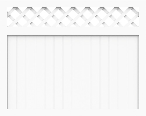 Element principal BasicLine tip N 180 x 120 cm, alb