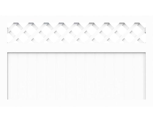 Element principal BasicLine tip K 180 x 90 cm, alb