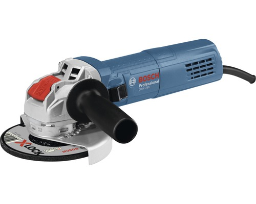 Polizor unghiular Bosch Professional GWX750-125 750W 125mm, cu mandrina X-LOCK System