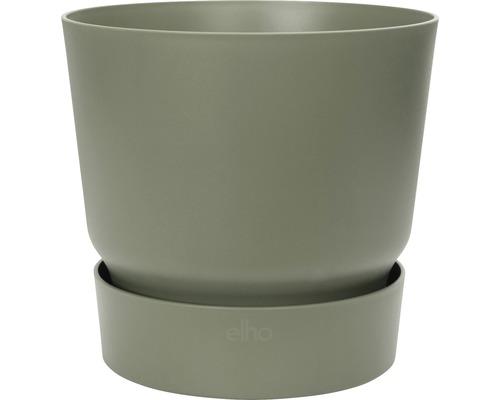 Ghiveci Greenville, Ø 25 cm, h 23,31 cm, verde