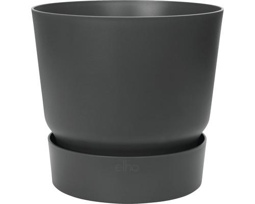 Ghiveci Greenville, Ø 25 cm, h 23,31 cm, negru