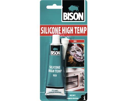 Etanseizant siliconic rezistent la temperaturi ridicate Bison rosu 60 ml