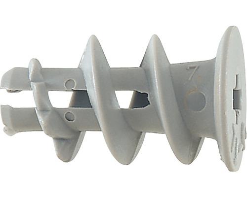 Dibluri plastic autoforante fara surub Fischer GK, pachet 10 bucati, pentru gipscarton, incl. unealta de montaj
