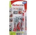 Dibluri plastic cu șurub Fischer DuoPower 8x40 mm, 8 bucăți