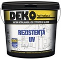 Vopsea ultralavabila de exterior cu silicon DEKO V8067 alba 8,5 l