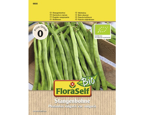 Floraself BIO fasole cataratoare verde