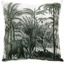 Pernă Exotic alb/negru 45x45 cm