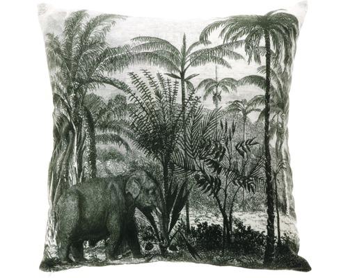 Perna Exotic alb/negru 45x45 cm