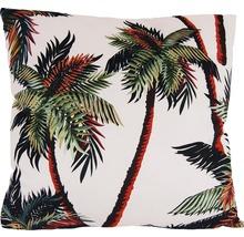 Pernă imprimeu palmieri 45x45 cm