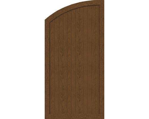 au Element de extremitate BasicLine tip H stanga 90 x 180/150 cm, Golden Oak