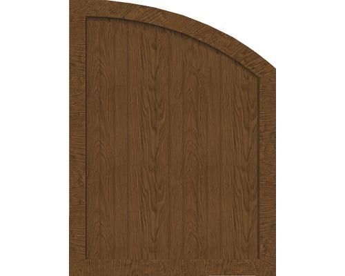 Element de extremitate BasicLine tip R dreapta 90 x 120/90 cm, Golden Oak