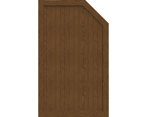 Element de extremitate BasicLine tip L dreapta 90 x 150/120 cm, Golden Oak