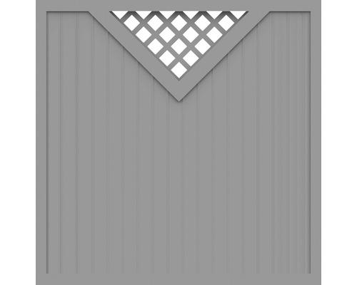 Element principal BasicLine tip B 180 x 180 cm, gri argintiu