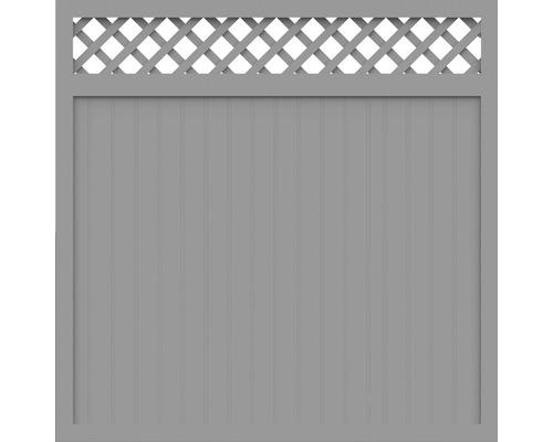 Element principal BasicLine tip C 180 x 180 cm, gri argintiu
