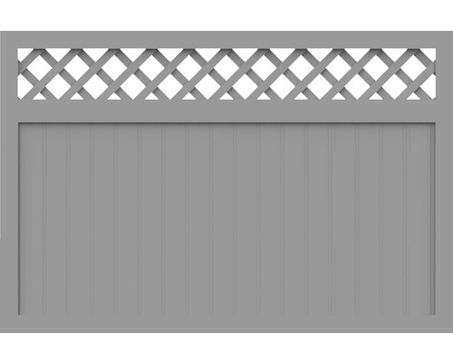 Element principal BasicLine tip N 180 x 120 cm, gri argintiu