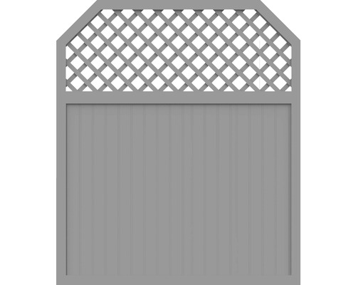 Element principal BasicLine tip I 180 x 210/180 cm, gri argintiu
